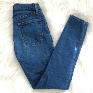 J Brand   Alana High Rise Skinny Jeans Size 24